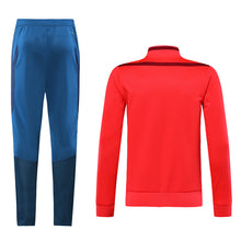 Load image into Gallery viewer, Bayern Bespoke Red and Blue Tracksuit Top & Bottom