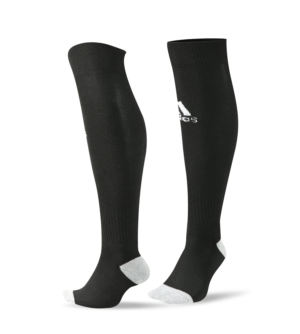 Socks Adult - Adidas Black with white logo