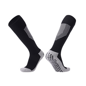 Socks Adult - Black with white trim