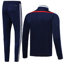 Load image into Gallery viewer, Sao Paulo Bespoke Royal Blue With Red Trim Tracksuit Top & Bottom