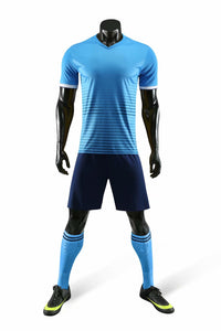 Junior Football Kit - Shaded Blue