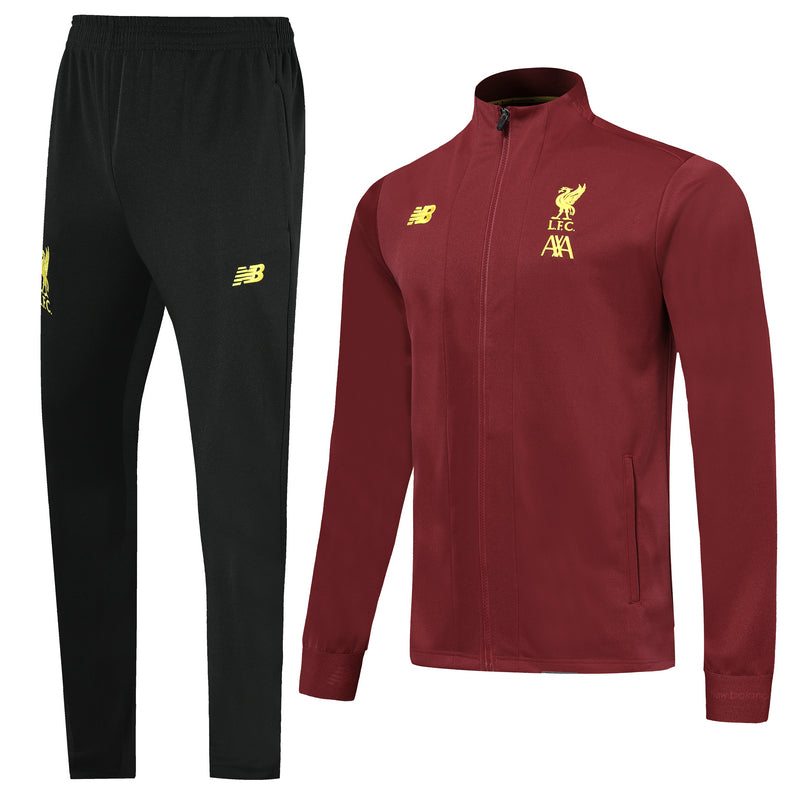 LFC Bespoke Maroon Tracksuit Top & Bottom