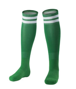 Full Football Kit - Green long sleeve top with Green shorts