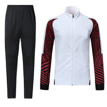Load image into Gallery viewer, Full Custom Tracksuit -  White and Shaded Red