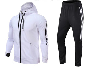 Full Tracksuit -  Hooded White