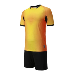 Junior Football Kit - Diamond Golden Yellow