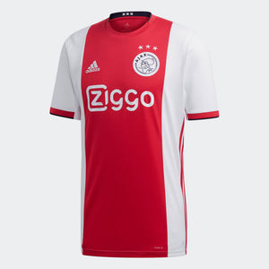 Ajax Red and White Bespoke Home Kit - T-shirt & Shorts