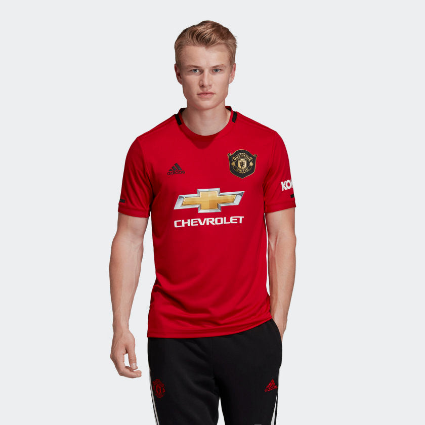 Man Utd Home Kit- Top & Bottom