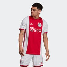 Load image into Gallery viewer, Ajax Red and White Bespoke Home Kit - T-shirt & Shorts