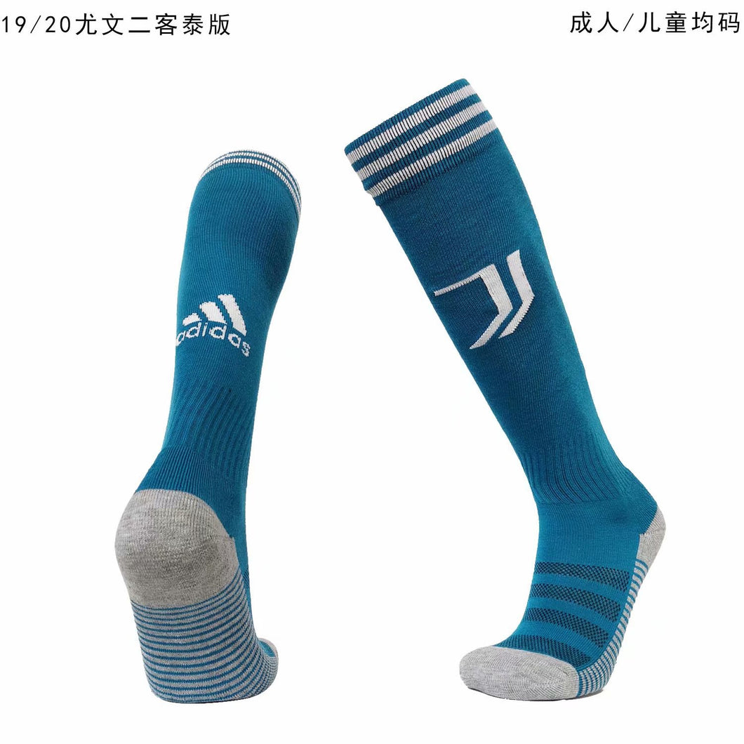 Socks Adult - Adidas Blue with white trims