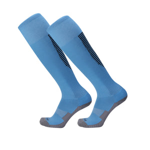 Socks Junior and Adult - Blue with Black trim