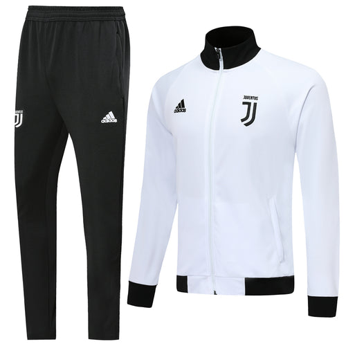 Juventus Bespoke Black and White With Back Detail Tracksuit Top & Bottom