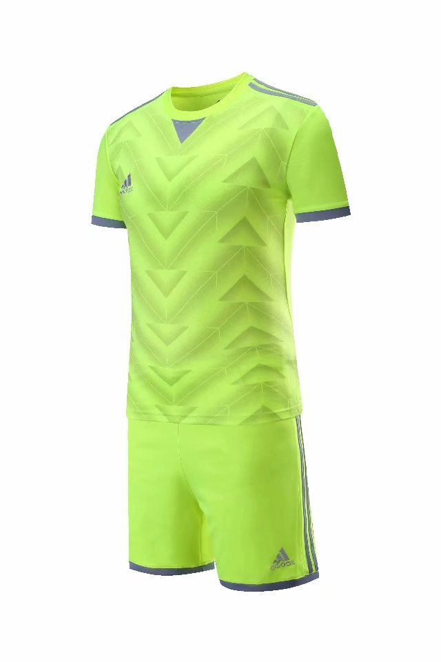 Adidas Full Football Kit Adult Sizes only - Lime green design