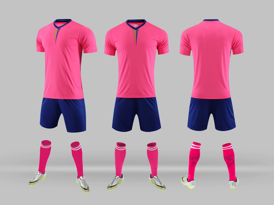 Junior Football Kit - Pink