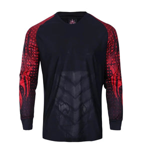 Goalkeeper Kit Black and Red - Top and Bottom