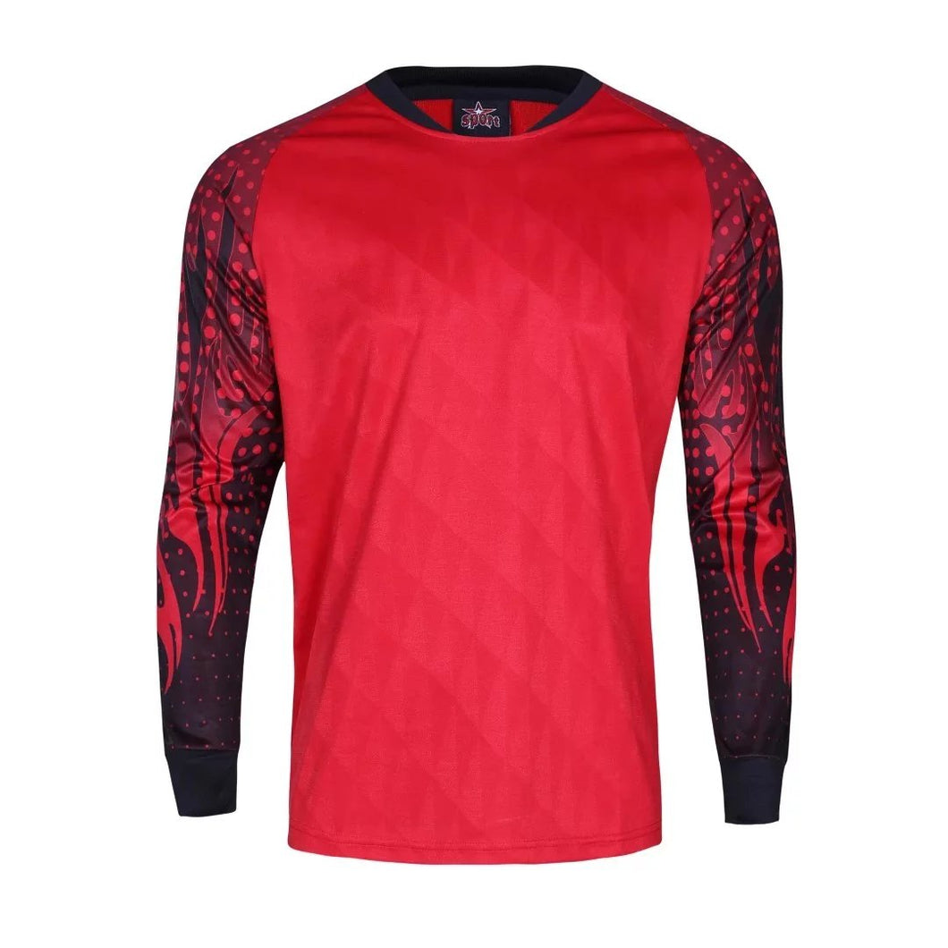 Goalkeeper Kit Red and Black - Top and Bottom