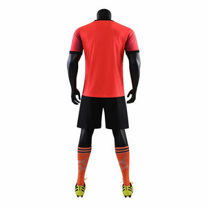 Junior Football Kit - Red and Black Shade