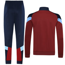 Load image into Gallery viewer, Manchester City Bespoke Red Blue Tracksuit Top & Bottom