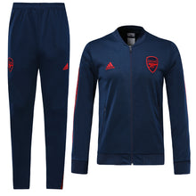 Load image into Gallery viewer, Arsenal Bespoke Royal Blue Tracksuit Top & Bottom