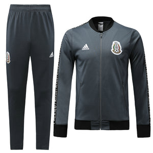 Mexico Bespoke Grey Tracksuit Top & Bottom