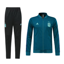 Load image into Gallery viewer, Argentina Bespoke Teal Tracksuit Top & Bottom