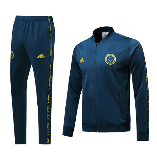 Colombia Bespoke Teal Tracksuit Top & Bottom