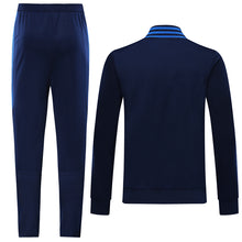 Load image into Gallery viewer, Tigres Bespoke Navy With Blue Detail Tracksuit Top & Bottom