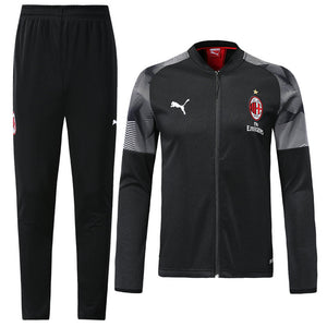 AC Milan Bespoke  2 Tone Tracksuit Top & Bottom