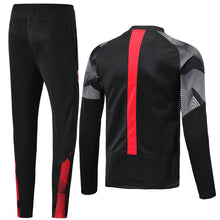 Load image into Gallery viewer, AC Milan Bespoke  2 Tone Tracksuit Top & Bottom