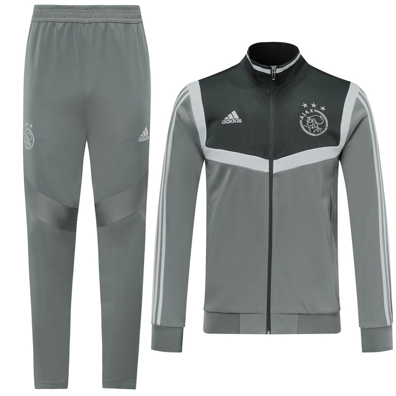 Ajax Bespoke Grey Tracksuit Top & Bottom