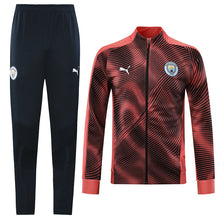 Load image into Gallery viewer, Manchester City Bespoke 2 Tone Pink Tracksuit Top and Bottom