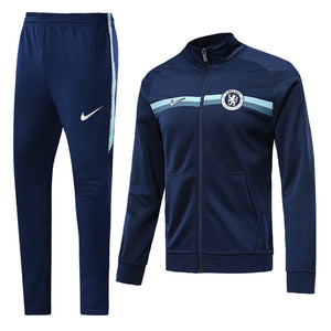 Chelsea Bespoke Royal Blue Tracksuit Top & Bottom