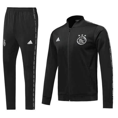 Ajax Bespoke All Black Tracksuit Top & Bottom