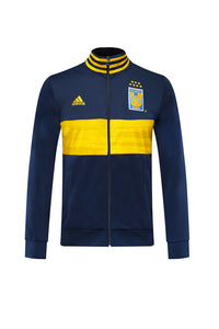 Tigres Bespoke Navy With Yellow Detail Tracksuit Top & Bottom