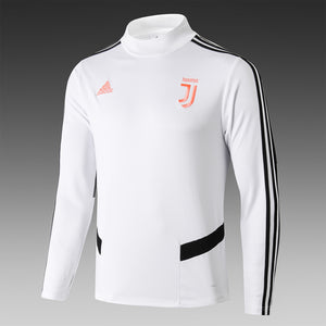 Juventus Bespoke Black and White With Black Trim Tracksuit Top & Bottom