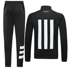 Load image into Gallery viewer, Bespoke Manchester Treble Winners Tracksuit With White Detail Top & Bottom