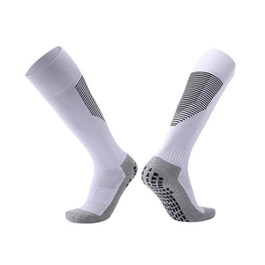 Socks Adult - White with black trim.