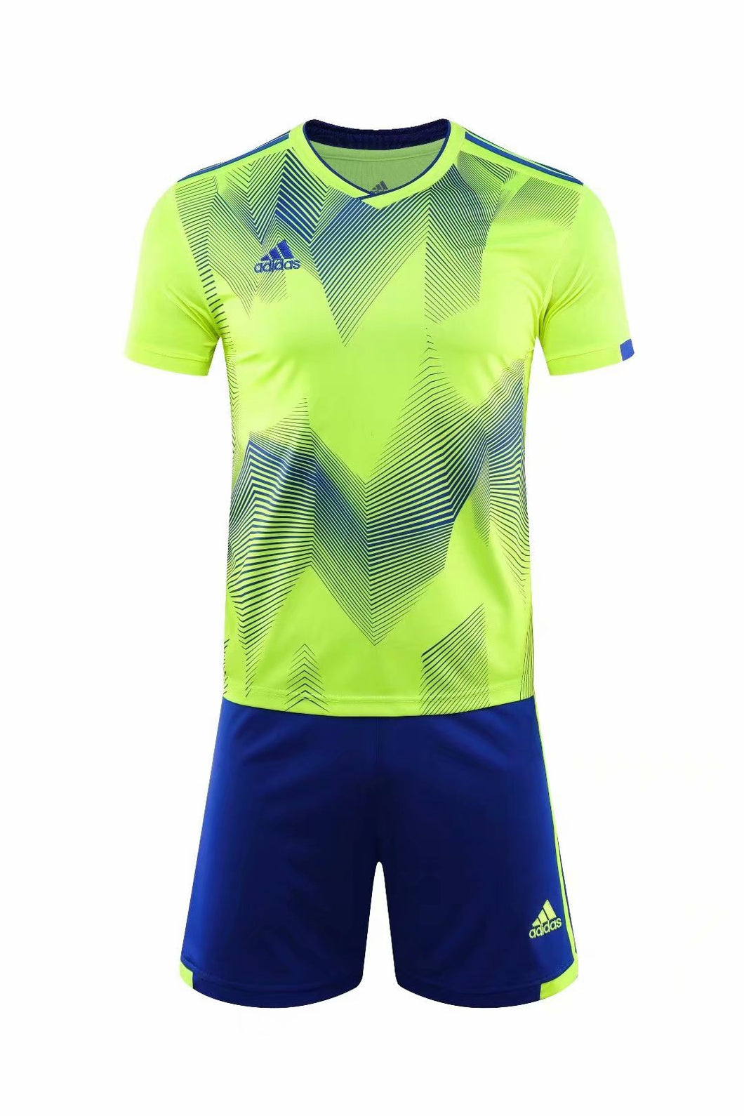 Adidas Full Football Kit Adult Sizes only - 2 tone yellow and blue.