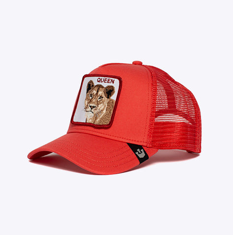 """Baseball Cap Strong Queen"" - 5 Panel Trucker - cor"