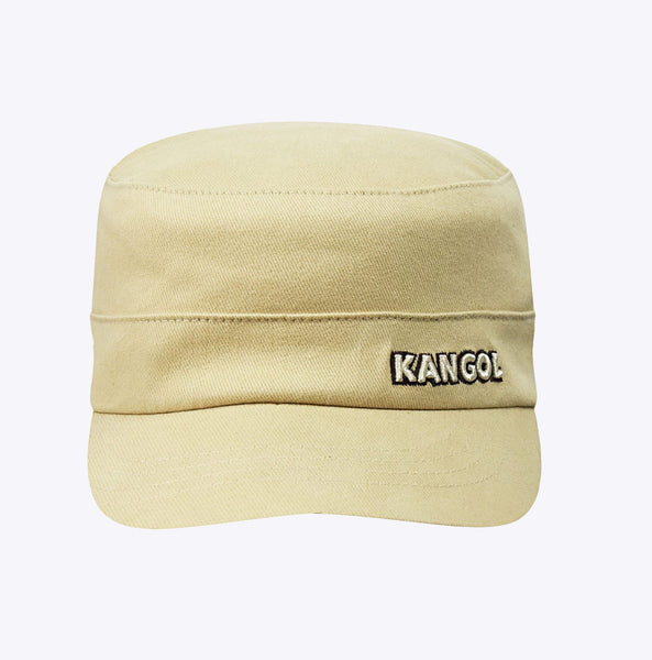 """Cotton Twill Army Cap"" - beige"