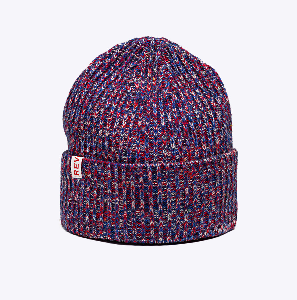 Revolution  9316 Structured Beanie - navy