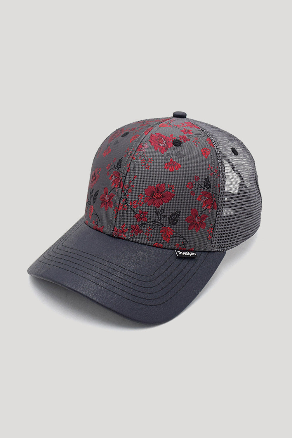 """RV Philly Trucker"" - 6 Panel Trucker Cap  - multi/grau"