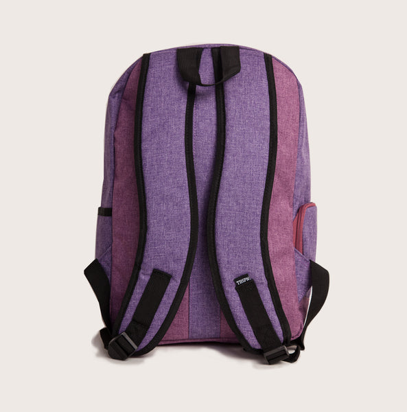 "Classic ""Back to school"" Rucksack - lila"