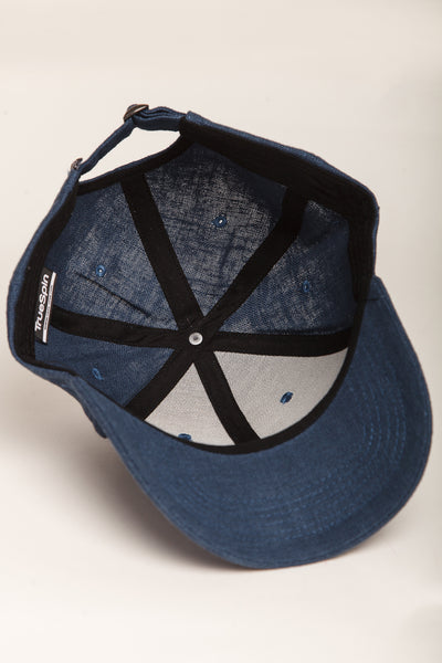 """Light"" - 6 Panel Curved Visor Cap - petrol"
