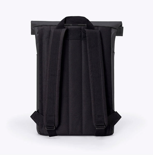 """Hajo"" Roll Top Rucksack - Lotus Series - black"