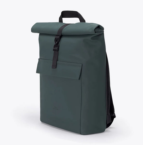 """Jasper"" Roll Top Rucksack - Lotus Series - forest"
