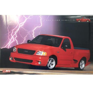 2003 Ford SVT Lightning Bolt Poster