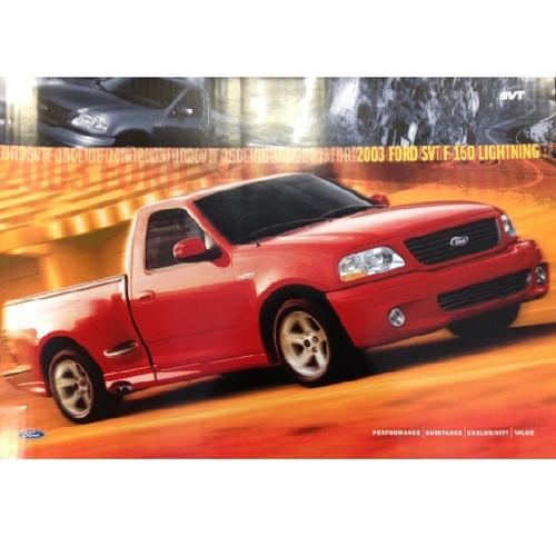 2003 Ford SVT Lightning Poster