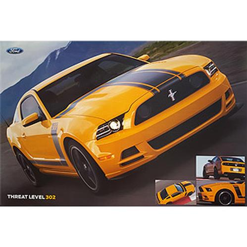 2013 BOSS 302 Threat Level 302 Poster
