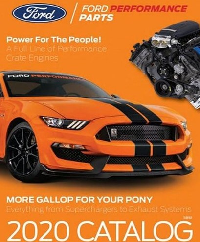 2020 Ford Performance Parts Catalog